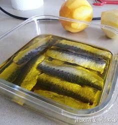 la cocina de aficionado: Como marinar y ahumar sardinas en casa