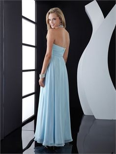 halter Column open back baby Blue Long with Sequins Prom Dress PD0809 http://www.simpledresses.co.uk