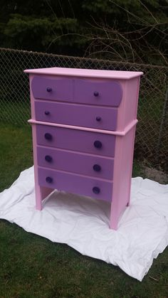 Rescued vintage dresser