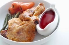Duck Legs with Red Wine and Plum Sauce ~ Simple Food