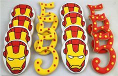 Ironman cookies by Whoo's Bakery
