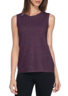 Eileen Fisher Raisin Sleeveless Sweater