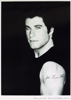 John Travolta. O.M.G. I was so in love with him in the 70's! Had his posters all over my bedroom walls.