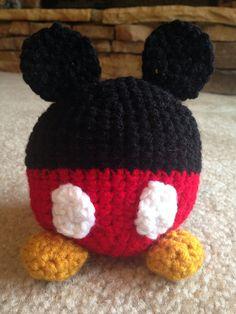 Mickey Mouse inspired amigurumi on Etsy, $15.00