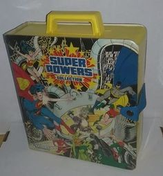 Vintage Kenner Super Powers Collection Carrying Case Vol 1- 1984 #Kenner