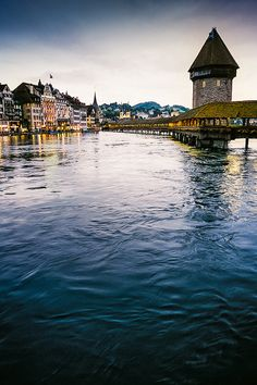 Lucerne, Switzerland I've been here and it is SO beautiful and clean and green... Take me back :)