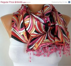 A scarf changes everything - #scarves