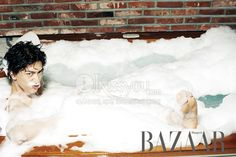 Sung Joon - Harper's Bazaar Magazine June Issue '13