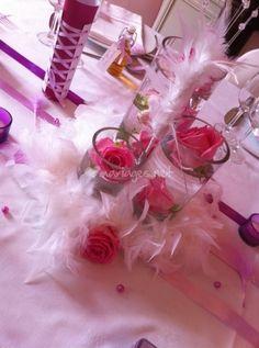 décoration mariage cabaret bleu blanc rêve
