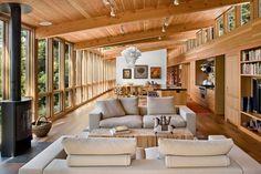 Modern Single Story Contemporary Home: Sebastopol Residence by Turnbull Griffin Haesloop