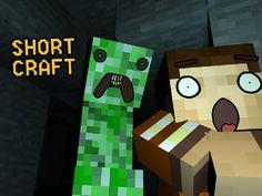 shortCRAFT: Hugging Creepers (Minecraft Machinima)