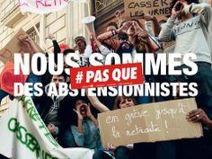 Nous sommes #PASQUE des abstentionnistes : http://www.pas-que.com/