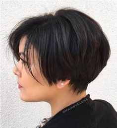 Image result for Short Haircuts for Women Over 40 Back View