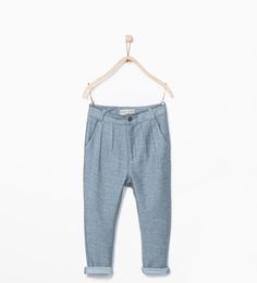 Chinos-Trousers-Boy (3-14 years)-KIDS | ZARA United States