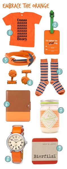 9 Orange Products to Brighten Your Life: http://bit.ly/1E8yh3m