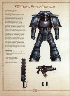 Alpha Legion Sternguard Veteran