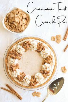 Cinnamon Toast Crunch, Cinnamon Spice, Milk Ice Cream, Sour Cream, Cereal Milk, Crunch Cereal, Balanced Breakfast, Milk Cake, Melted Butter