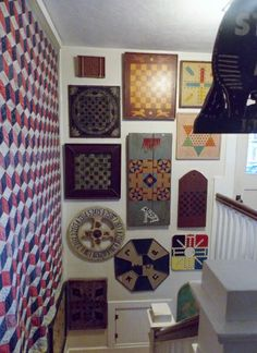 Part of our game board collection Game Boards, Board Games, Game Art, Folk Art, Gallery Wall, Carving, Signs, Antiques, Frame