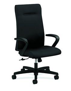 HON HONIE102CU10 Ignition Executive Chair, Black CU10