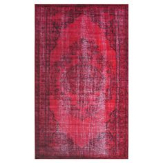 Wool rug with a distressed Persian-inspired motif.   Product: RugConstruction Material: 100% WoolColor: ...