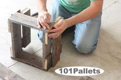 DIY Pallet Planter Box Tutorial