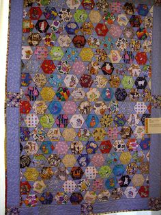 I Spy quilt at Farmington Valley Quilt Show