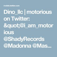 "Dino_llc | motorious on Twitter: ""@i_am_motorious @ShadyRecords @Madonna  @Maserati_HQ @ScuderiaFerrari @falloutboy @NaomiCampbell @Shinedown https://t.co/0WMVVTmeeY @fusetv"""