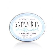 Like a good snow day, this softening vanillamint lip scrub makes your lips feel refreshed and soothed.