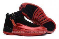 http://www.bigkidsjordanshoes.com/czech-nike-air-jordan-xii-12-retro-womens-shoes-black-red-2016-free-shipping.html CZECH NIKE AIR JORDAN XII 12 RETRO WOMENS SHOES BLACK RED 2016 FREE SHIPPING Only $93.00 , Free Shipping!