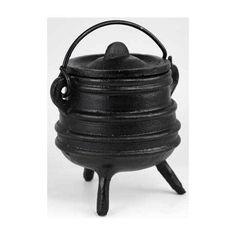 "Ribbed cast iron cauldron 3""                                                                                             H558-ICBR77"