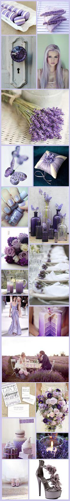 Lavender Love Inspiration Board