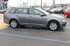 2015 Volkswagen Golf SportWagen TSI S Exterior: Platinum Gray Metallic (Gray) Interior: Titan Black (Black) Status: In Stock Mileage: 15 Engine: Intercooled Turbo Regular Unleaded I-4 1.8 L/110 Transmission: Automatic STK #: G591