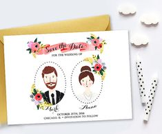 Hey, I found this really awesome Etsy listing at https://www.etsy.com/listing/235027627/custom-illustrated-save-the-date
