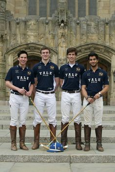 Yale PoloI have to get one of these Jerseys.