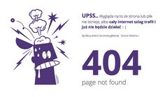 404 Error Page Designs For Inspiration