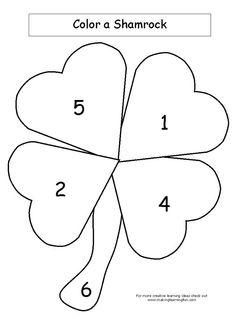 Color A Shamrock -   -  Pinned by @PediaStaff – Please Visit http://ht.ly/63sNt for all our pediatric therapy pins