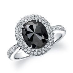 BLACK DIAMOND ENGAGEMENT RINGS | Coby Madison Black Diamond Engagement Ring