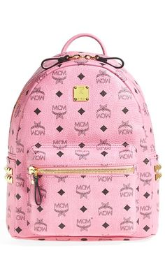 MCM 'Small - Visetos' Coated Canvas Backpack available at #Nordstrom this would be a great gift for my Haven
