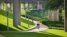 Buffalo Bayou Promenade in Houston, Texas by SWA, 2006. This project by SWA, as documented in their recent monograph Landscape ...