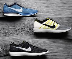 Flyknit. Nike Flyknit may be the next big technology to hit the running world — a ridiculously lightweight, formfitting construction ideal for those looking for a bit more out of their performance. And just to make sure the shoes make their mark, both for running and everyday style, the Nike Flyknit HTM Collection was created, a design collaboration between Hiroshi Fujiwara, Tinker Hatfield and Nike CEO (and designer) Mark Parker.
