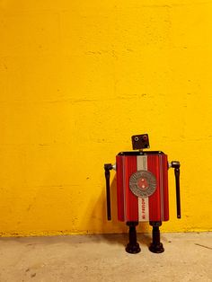 robot recyclé : Mac farlow - Gille Monte Ruici