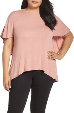 5c16420ee65 Trendy Lace Panel Light Pink Side Slit Sweater