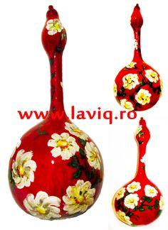 Tartacuta pictata in culori acrilice...  Margarete  www.laviq.ro  www.facebook.com/pages/LaviQ/206808016028814