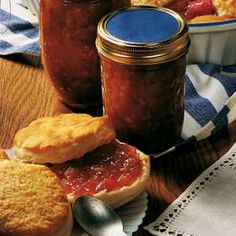 """Rhubarb Marmalade - My daughter makes this marmalade every spring when rhubarb's abundant. Our family enjoys her gift...a refreshing departure in flavor from all the """"berry"""" jams and jellies."""