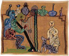 fern and moss Art And Illustration, Alpillera Ideas, World Painter, Arte Popular, Medieval Art, Outsider Art, Embroidery Art, String Art, Great Artists