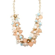 RJ Graziano Multi Beaded Necklace from LittleBlackBag