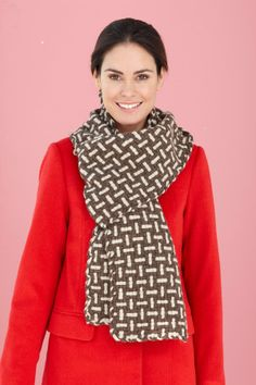Image of Woven Tweed Scarf