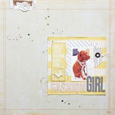 Fashion Girl - Serie DIY-Shop - DT-Arbeit von Christine Robl