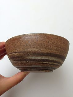 Swirled Clay Ceramic Bowl  Marbled Clay Bowl by CoraCeramics