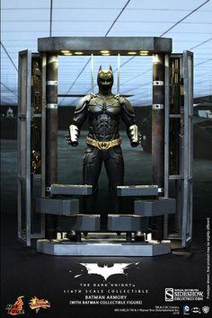 Batman Armory with Batman 1/6 Scale Figure. #batman #armory alteregocomics.com